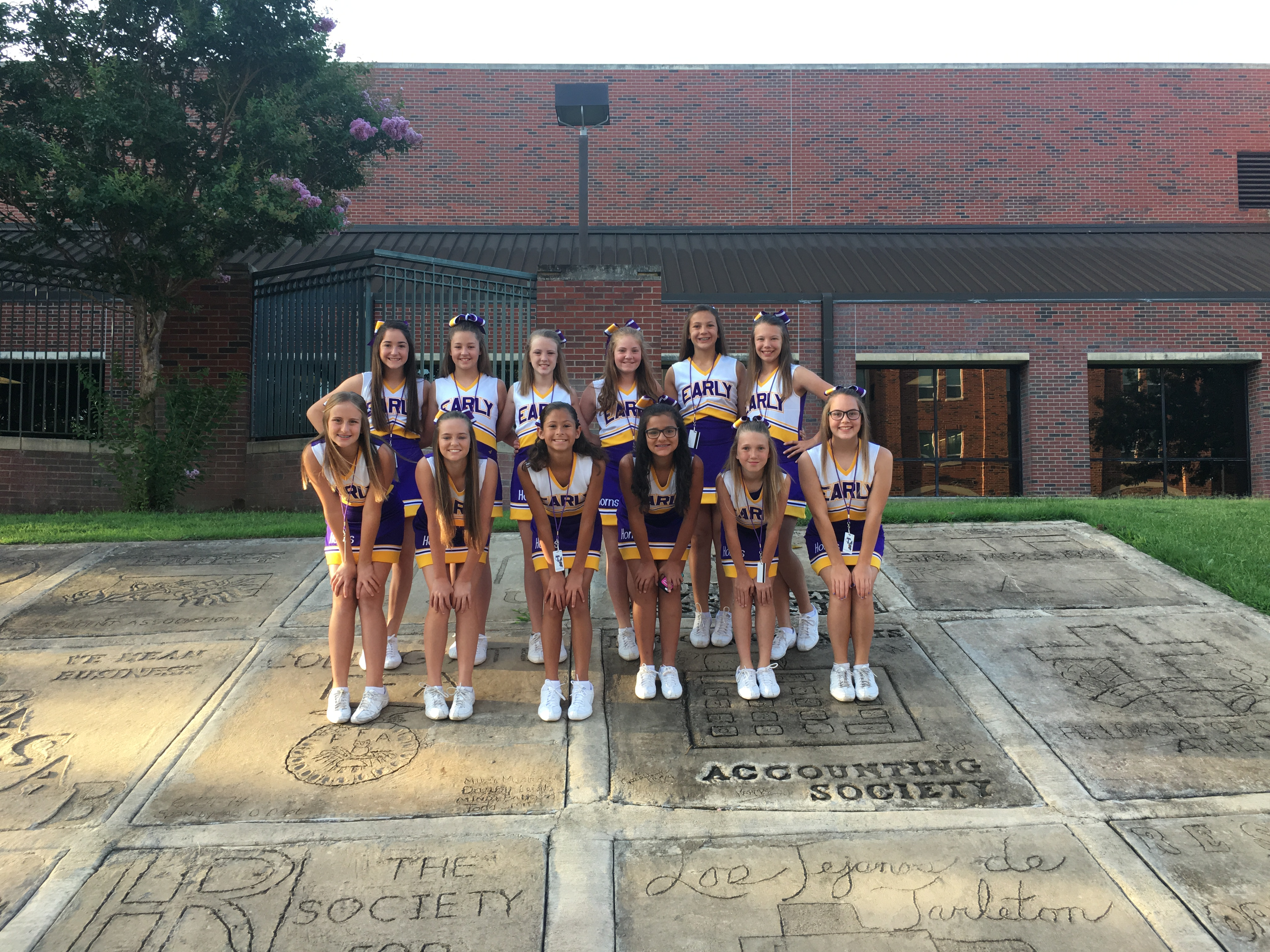Final day at Cheer Camp 2017