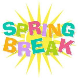Image result for spring break clip art 2018